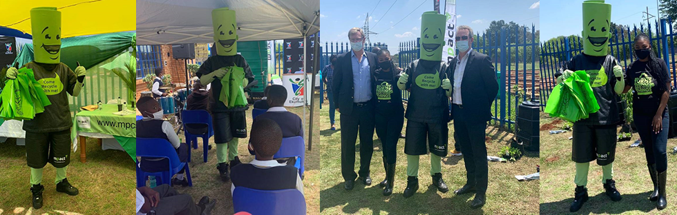 Mpact composter drive in partnership with Ekurhuleni municipality uplifts Phelang LSEN school