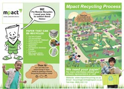 Schools recycling poster