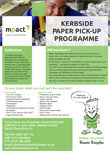 Kerbside paper pick-up programme cycle 1
