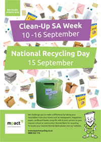 clean up week and national recycling day 2018